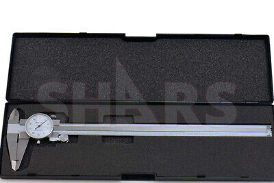 """OUT OF STOCK 90 DAYS SHARS 0- 12 x 0.1"""" 4 WAY DIAL CALIPER STAINLESS STEEL  SHOC"""