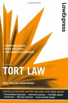 Law Express: Tort Law (Revision Guide) by Fafinski, Stefan Paperback Book The