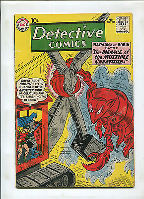 Detective Comics #288 (6.0) The Menace Of The Multiple Creature!