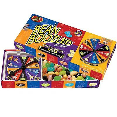 Jelly Belly Bean Boozled with Spinner Wheel Game 4th Edition, 3.5 Ounce by AOI