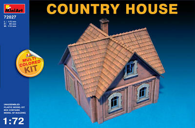 Country House Diorama Plastic Kit 1:72 Model MINIART