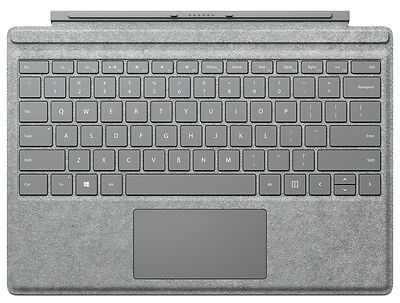 Microsoft Surface Pro 4 Signature Type Cover (Gray) - QWERTY Keyboard US-Layout