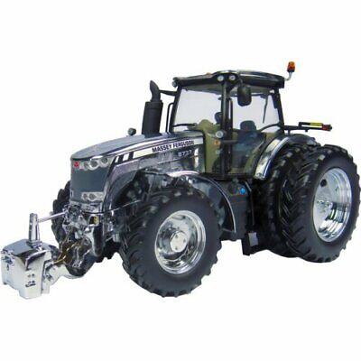 Massey Ferguson 8737 Tractor - Limited Edition Chrome Trattore 1:32 Model 4860