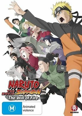 Naruto Shippuden - Movie 3 - The Will Of Fire (DVD, 2012) region 4(NEW & SEALED)