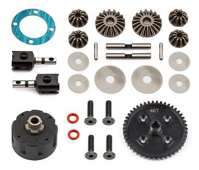 Team Associated 81358 Complete Center Diff / Differential V2 Nitro RC8B3 RC8T3