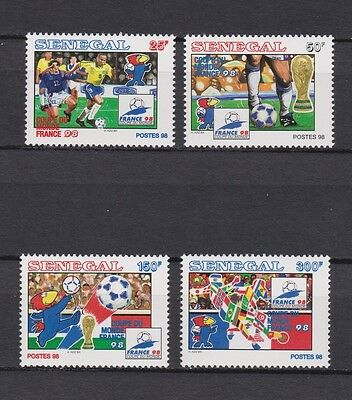 s7301) SEN EGAL1998 MNH** WC Football'98 - CM Calcio 4v
