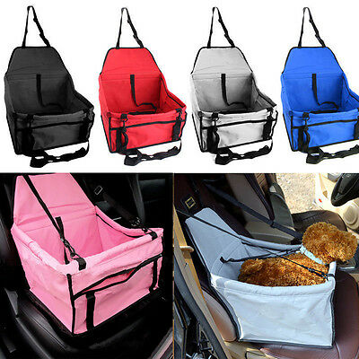 New Folding Pet Dog Cat Car Seat Travel Carrier Kennel Puppy Handbag Sided Bag