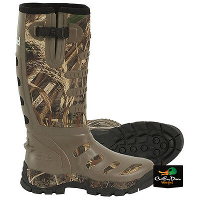 New Banded 1200 Gram Insulated Breathable Rubber Knee Boots Max-5 Camo Size 10
