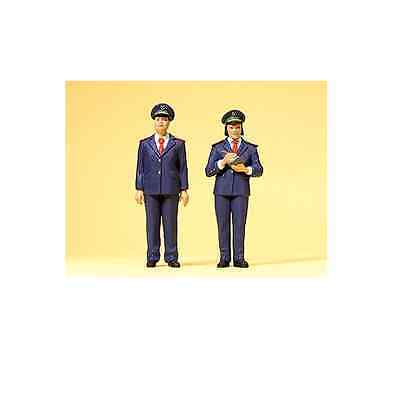 Preiser G Scale 1/22.5 Chinese Railway Personnel Figure Set | Bn | 45148