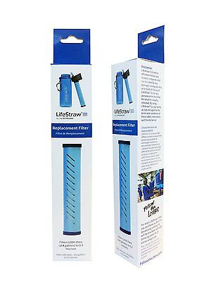 LIFESTRAW GO Bottle Replacement 1000 Liter WATER FILTER Purification Purifier