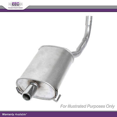 New VW Polo 6N2 1.6 16V GTI Genuine EEC Exhaust Pipe Back Box Rear End Silencer