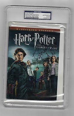 Daniel Radcliffe Emma Watson Harry Potter Signed DVD Cover PSA DNA COA Autograph