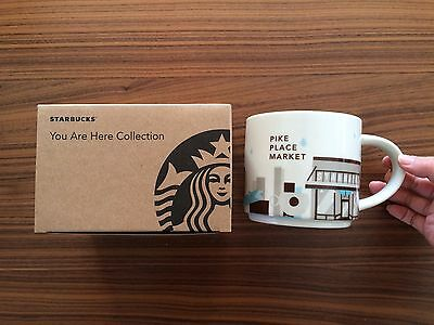 First Starbucks Mug You Are Here Pike Place Market Seattle 14oz YAH