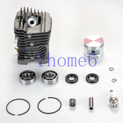 49MM Cylinder Piston WT Pin Bearing Oil Seal For STIHL 039 MS390 029 MS290 MS310