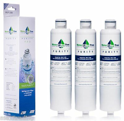 DA29-00020B replacement Water &Ice  filter  for   Samsung Fridge  3Pack 545 days