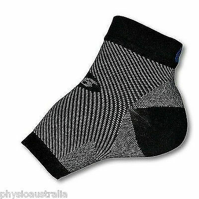 Orthosleeve FS 6 foot compression sleeve reduces swelling plantar fasciitis