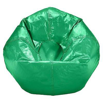 Astonishing Small Vinyl Bean Bag Chair Ace Bayou 32 99 Picclick Spiritservingveterans Wood Chair Design Ideas Spiritservingveteransorg