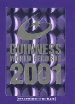 Guinness World Records 2001 by unknown Hardback Book The Cheap Fast Free Post