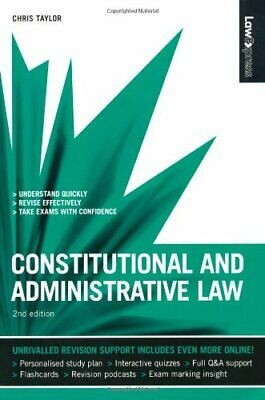 Law Express: Constitutional and Administrative Law... by Taylor, Chris Paperback