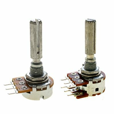 Poti Potentiometer Alpha 6mm Stereo | Mono | lin| log | 1k Ohm - 1M Ohm wählbar