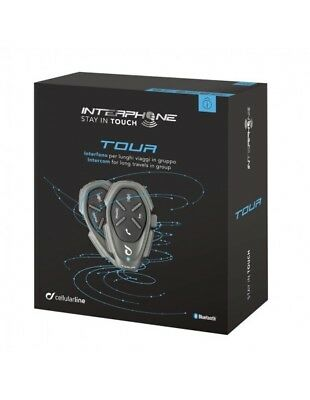 XDE-A Tour twin pack Interphone Cellularline