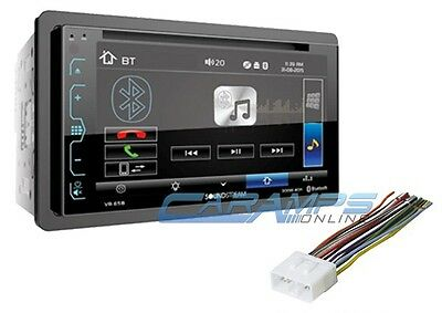 """New 6.2"""" Touchscreen Soundstream Stereo Radio With & Bluetooth & Smartphone Intg"""