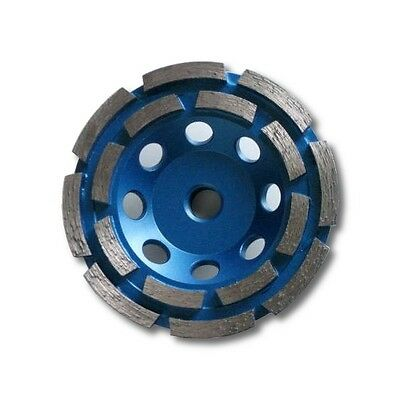 """4.5 inch Diamond Cup Grinding Wheel, Double Row, Grit 30~40 With 5/8""""-11 Arbor"""