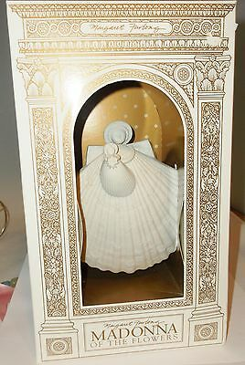 Margaret Furlong MADONNA of the FLOWERS w/ Stand New NIB Limited Edition