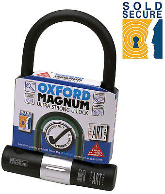Oxford Magnum Ultra Strong For Motorcycle Sold Secure D Lock (Of172)