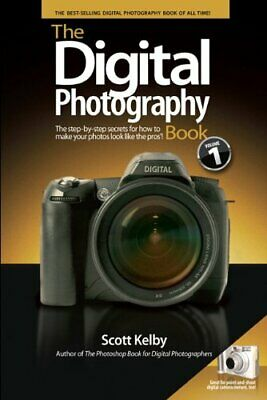 The Digital Photography Book by Kelby, Scott Paperback Book The Cheap Fast Free