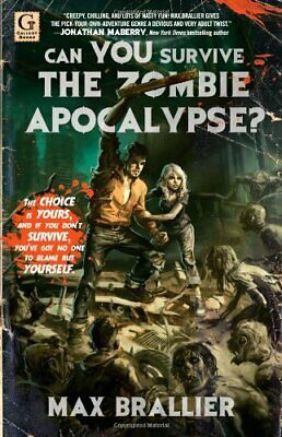 Can You Survive the Zombie Apocalypse? by Brallier, Max Paperback Book The Cheap