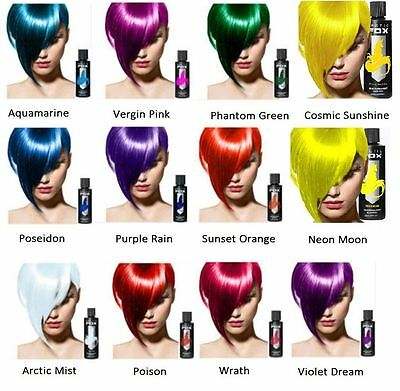 ARCTIC FOX Semi-Permanent Hair Dye Hair Color 100% Vegan 20 Colors [Authorized]