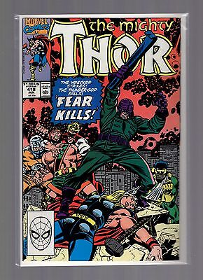 Thor #418 NM+ Frenz, Sinnott, Hercules, Wrecker
