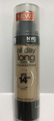 NYC all-day-long smooth skin FOUNDATION, lasts up to 14 hours,#739 CLASSIC BEIGE