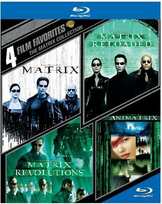 4 Film Favorites: The Matrix Collection [New Blu-ray] Boxed Set