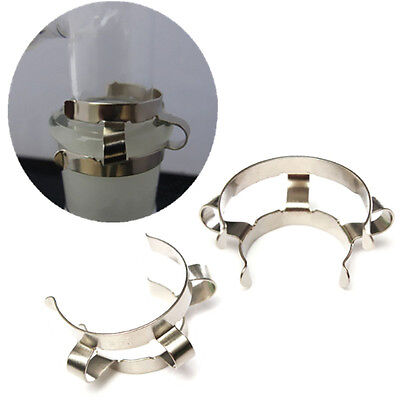 2PCS 14#,Stainless Steel Clip,Keck Clamp,For 14/20 or 14/24 Glass Ground Joint