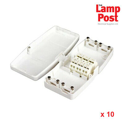 J201 Hager Ashley Terminal Knockout Slot Junction Box 20 Amp 20A Brown