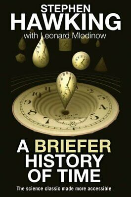 A Briefer History of Time by Mlodinow, Leonard Hardback Book The Cheap Fast Free