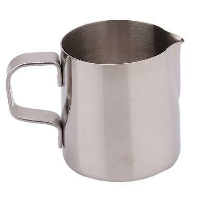 Kitchen Tool Silver Stainless Steel Coffee Frothing Tea Milk Latte Jug Cup - 6A
