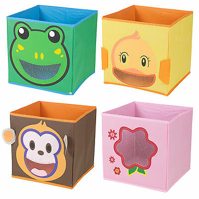 Kids Toy Animal Storage Box Non Woven Fabric Collapsible Organiser Children's