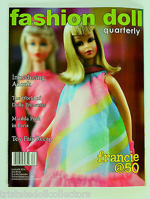 "SUMMER 2016 ""MILESTONES"" Francie @50 FASHION DOLL QUARTERLY FDQ MAGAZINE_NEW"
