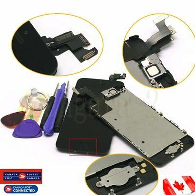 For Black iPhone 5C LCD Screen Display Digitizer Full Assembly Replacement CA