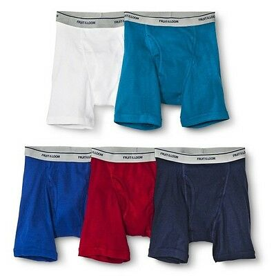 Boys' Fruit Of The Loom&#174 5-pack Boxer Briefs - Assorted Colors