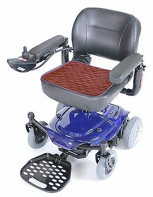 Comfortcare Incontinence Protection Wheelchair Pad- Burgundy