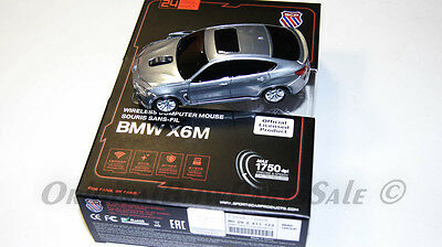 Genuine BMW X6M 5.0d Computer Wireless Mouse Great gift Idea OEM NEW Collection