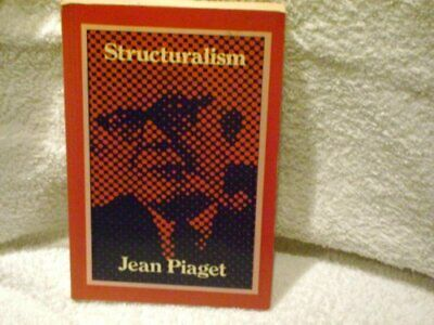 Structuralism, Piaget, Jean Paperback Book The Cheap Fast Free Post