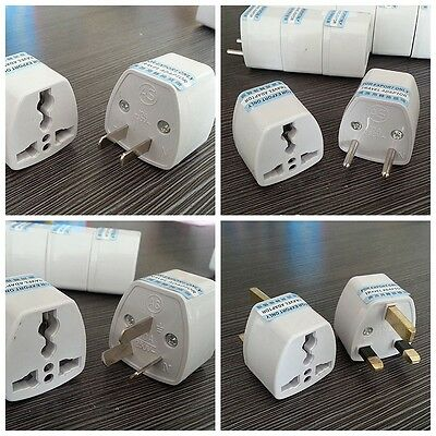 Universal Travel AC Portable Power Plug Adapter Converter For UK US EU AU To All