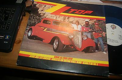 """8737 ZZ Top Gimme All Your Lovin 12"""" Single Buy 5 LP's For £6 Postage"""