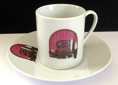 Jack The Ripper Espresso Cup And Saucer
