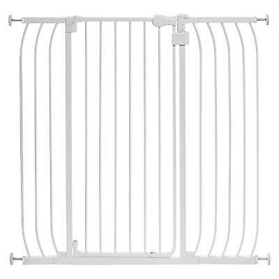 Summer Infant® Walk Thru Extra Tall Baby Gate (White Metal)
